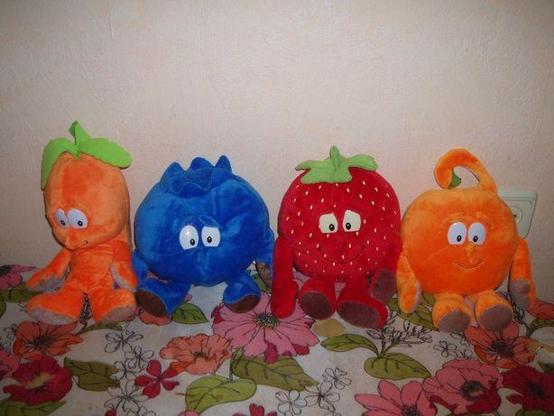 Мягкие игрушки овощи фрукты супергерои goodness gang