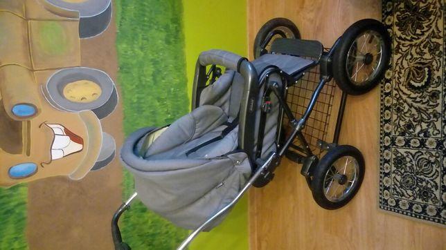 Wózek 3 w 1 gondola spacerówka i fotelik samochodowy