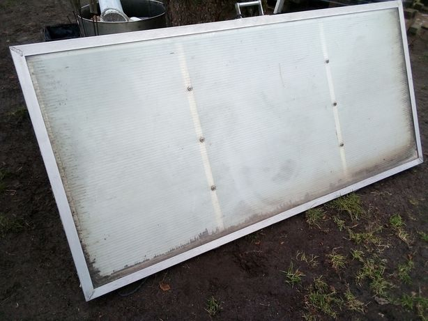 Drzwi poliwęglanowe aluminium plexi