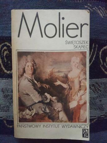 Książka Świętoszek Skąpiec Molier