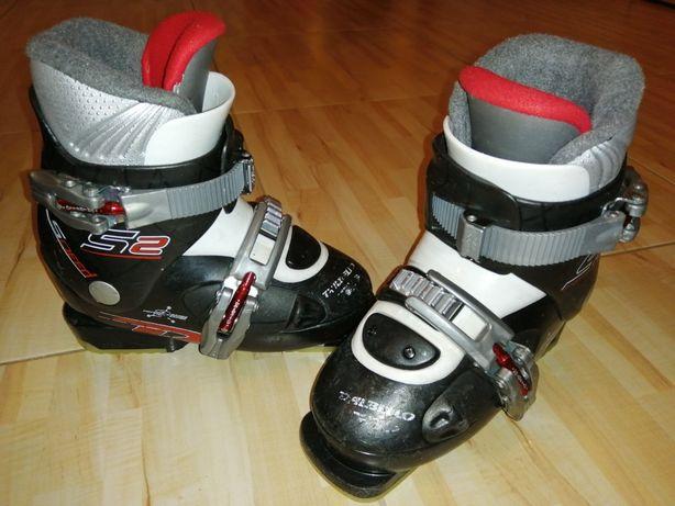 Buty narciarskie dla dziecka 195-205cm. Rozmiar 30-31