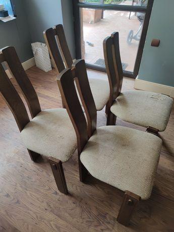 Bardzo wygodne krzesła tapicerowane