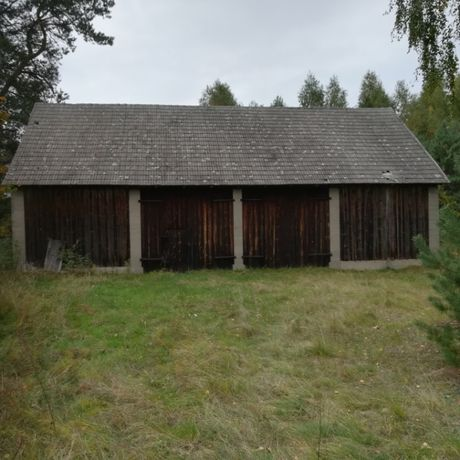 Działka siedliskowa zabudowana we wsi Dąbrowy