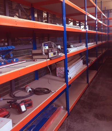 REGAŁ Metalowy 198x154x62cm 5P OSB 680kg magazyn sklep garaż piwnica