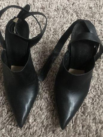 Zara buty skórzane damskie 36