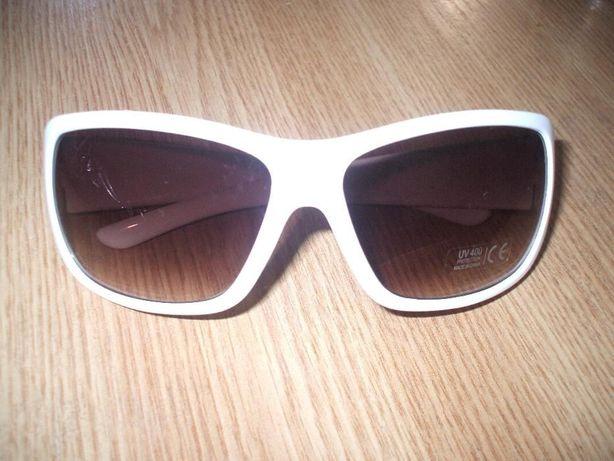 Акция! Солнцезащитные очки в белой оправе