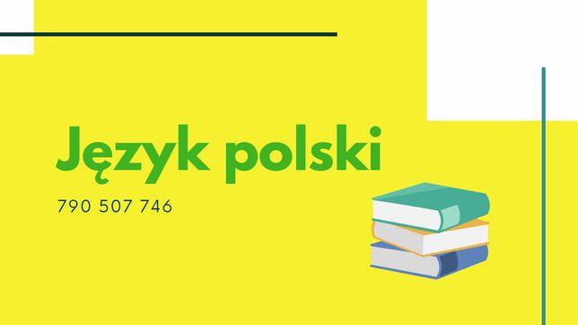 Korepetycje język polski