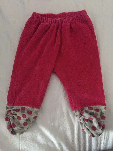 Spodnie dresy 68