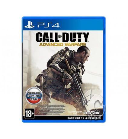Диск PS4 с игрой Call Of Duty: Advanced Warfare RU
