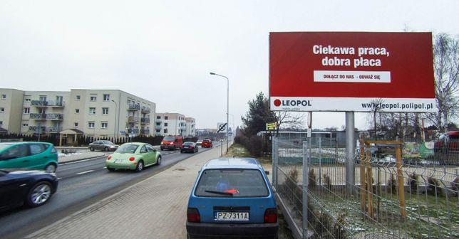 Billboard tablica reklamowa bilbord do wynajęcia Śrem reklama w ŚREMIE