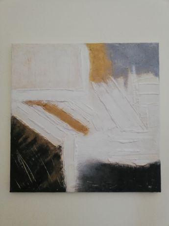 Pintura abstrata com textura
