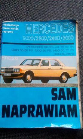 Książka Mercedes Sam naprawiam Obniżka z kwoty 79 zl na 60zł