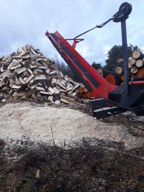 Cięcie i łupanie drewna. Drewno, opał .