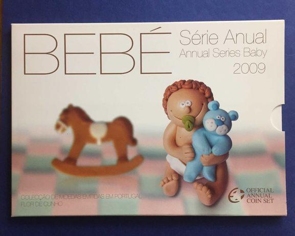 Série Anual Bebé 2009 - Carteira Oficial da INCM
