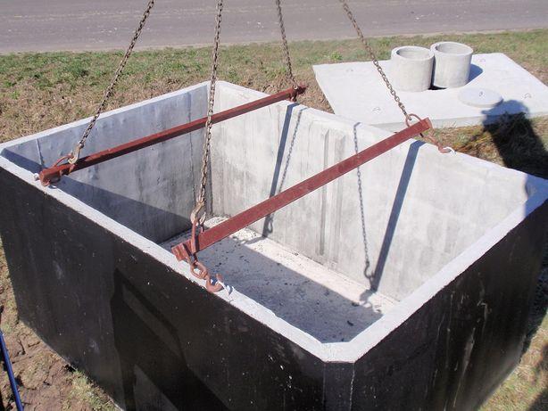 zbiornik betonowy 8m3 szambo betonowe szamba transport producent 10 12