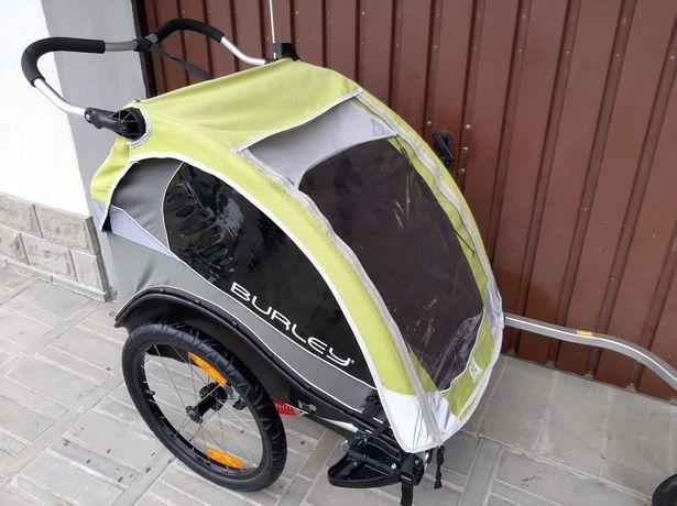 Przyczepka rowerowa Burley CUB jak NOWA Kompletna