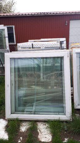 okno białe 120szer 140wys, stan bdb, 250zł, tanio !!!