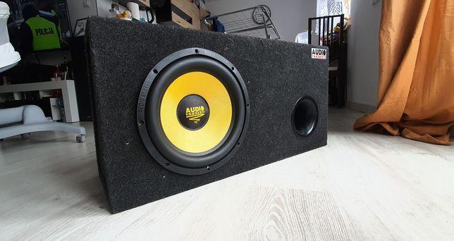 Skrzynia basowa tuba AUDIO SYSTEM RADION 12 400/600W + JBL GTO 7001