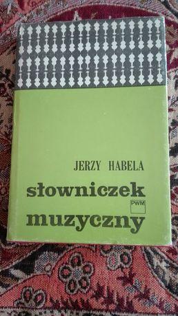 Słowniczek muzyczny Jerzy Habela