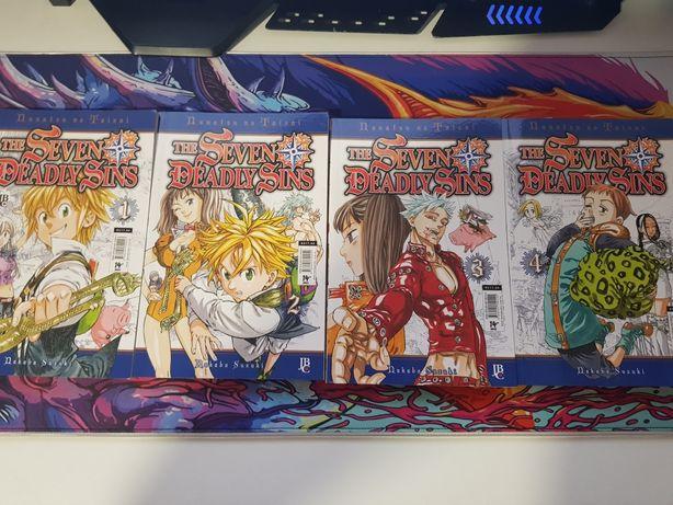 Mangas de Nanatsu no taizai (The seven deadly sins) em Português