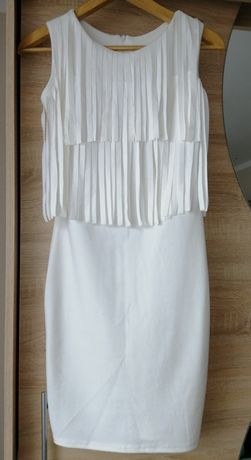 Sukienka frędzle r. 36