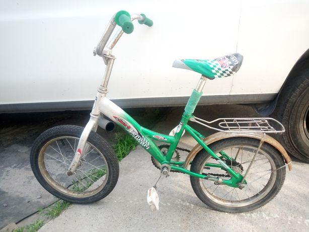 Детский велосипед салют Ferrari