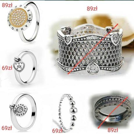 Pandora pierścionek