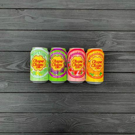 Chupa Chups Drink 345ml (Grape/Strawberry Cream/Melon Cream/Orange