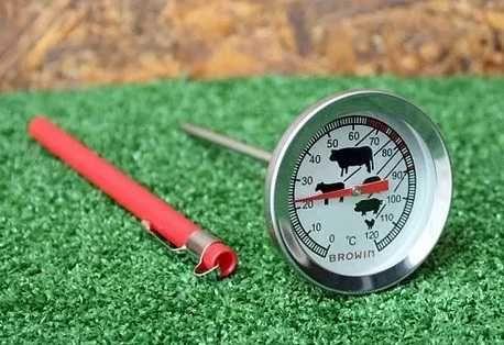 Термометр кулинарный для запекания ,выпечки мяса темп. 0-120 С. Польша