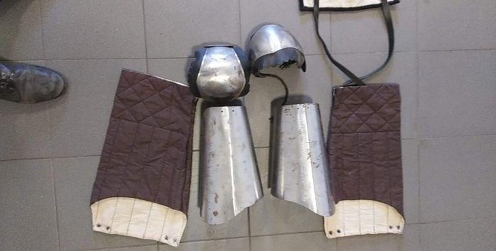 Bigwanty z kolanami i nogawiczkami ( zbroja reko rycerstwo ) Chojnice - image 1
