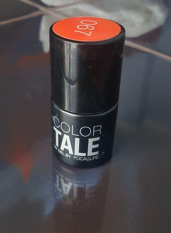 Lakier hybrydowy Color Tale 067 czerwony