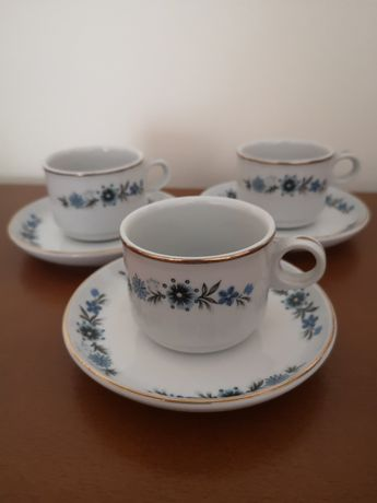 Chávenas novas pintadas