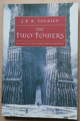 the two towers, j.r.r. tolkien, the lord of the rings