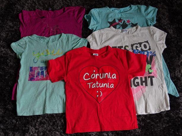 koszulki bluzki 152