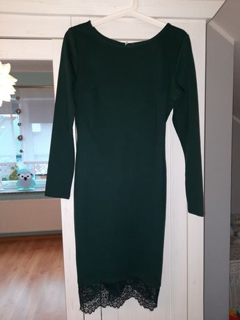Suknia sukienka damska z koronką nowa