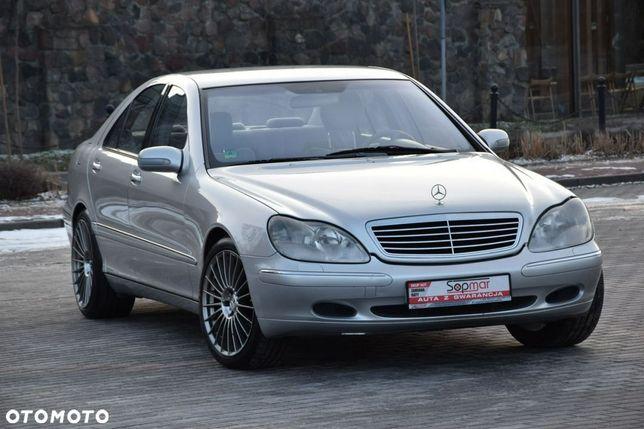 Mercedes-Benz Klasa S S430 V8 279KM 1999r. Xenon NAVi Alu19 Welur