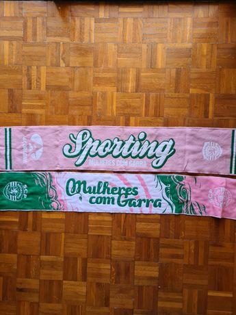 Cachecóis Sporting mulher