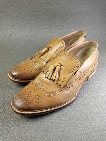 туфли из натуральной кожи Asos