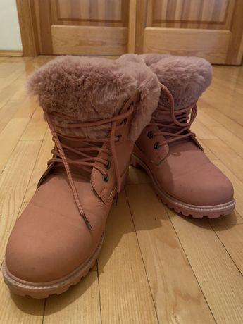 Ботинки зимние 38размер