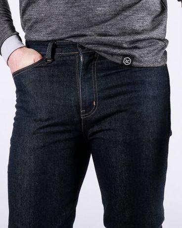 Wodoodporne jeansy motocyklowe KNOX Spencer, rozm. S, Nowe
