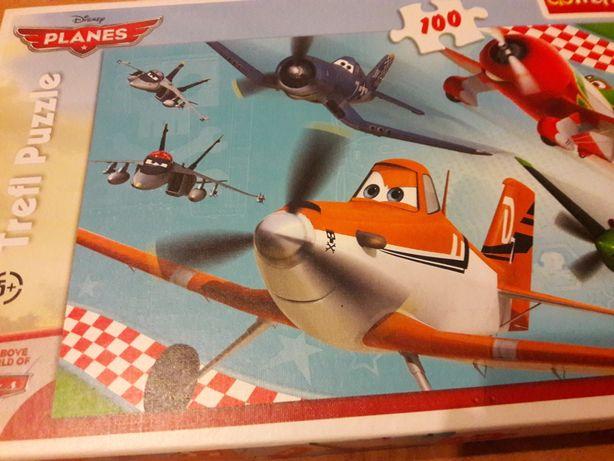 Puzzle Samoloty Planes Trefl  100