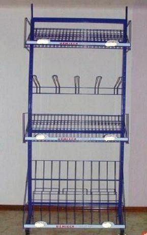 Nowy Regał Metalowy Ekspozytor-192x73x50