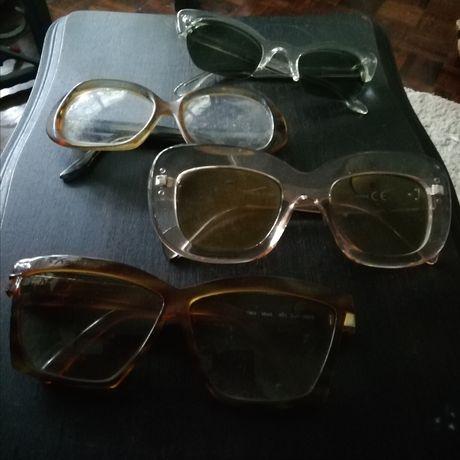 Óculos exóticos para teatro