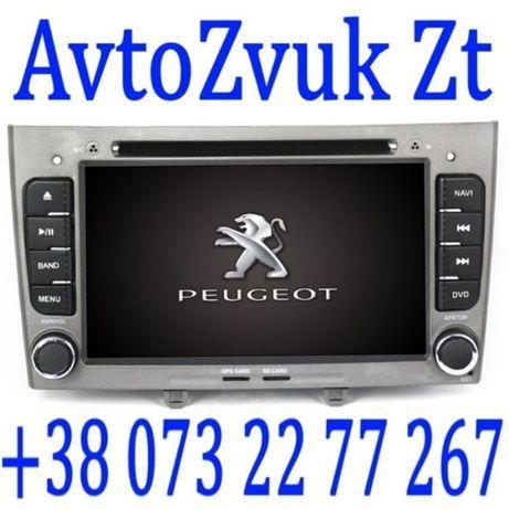 Магнитола PEUGEOT Android 308 408 RCZ GPS DVD USB ПЕЖО Андроид DSP