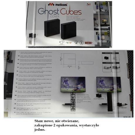 Zestaw 2 maskownice do kabli Ghost cubes