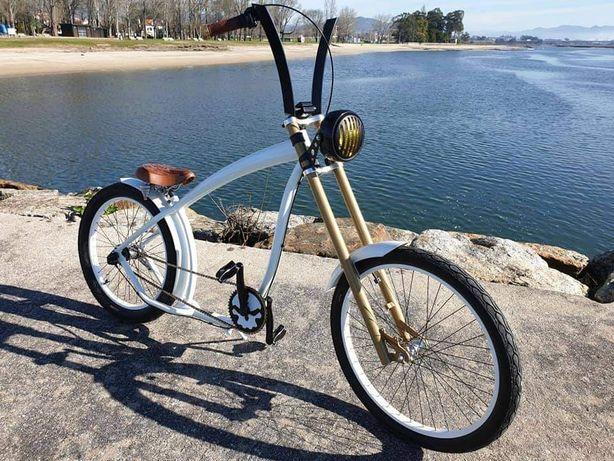 Bike chopeer numerada