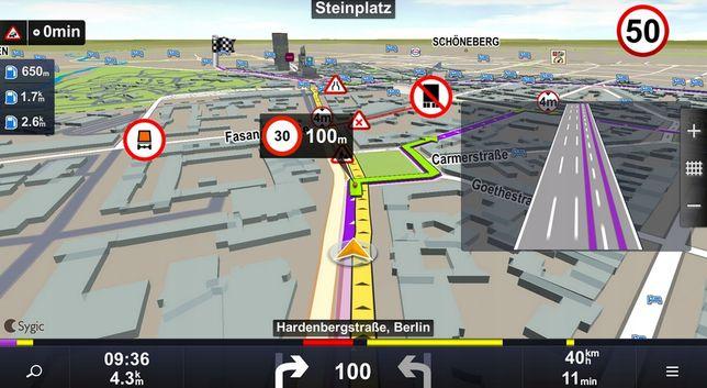 """Nawigacja TIR tablet 10"""" mapy 2020 Sygic Truck Pro + IGO PRIMO Truck"""