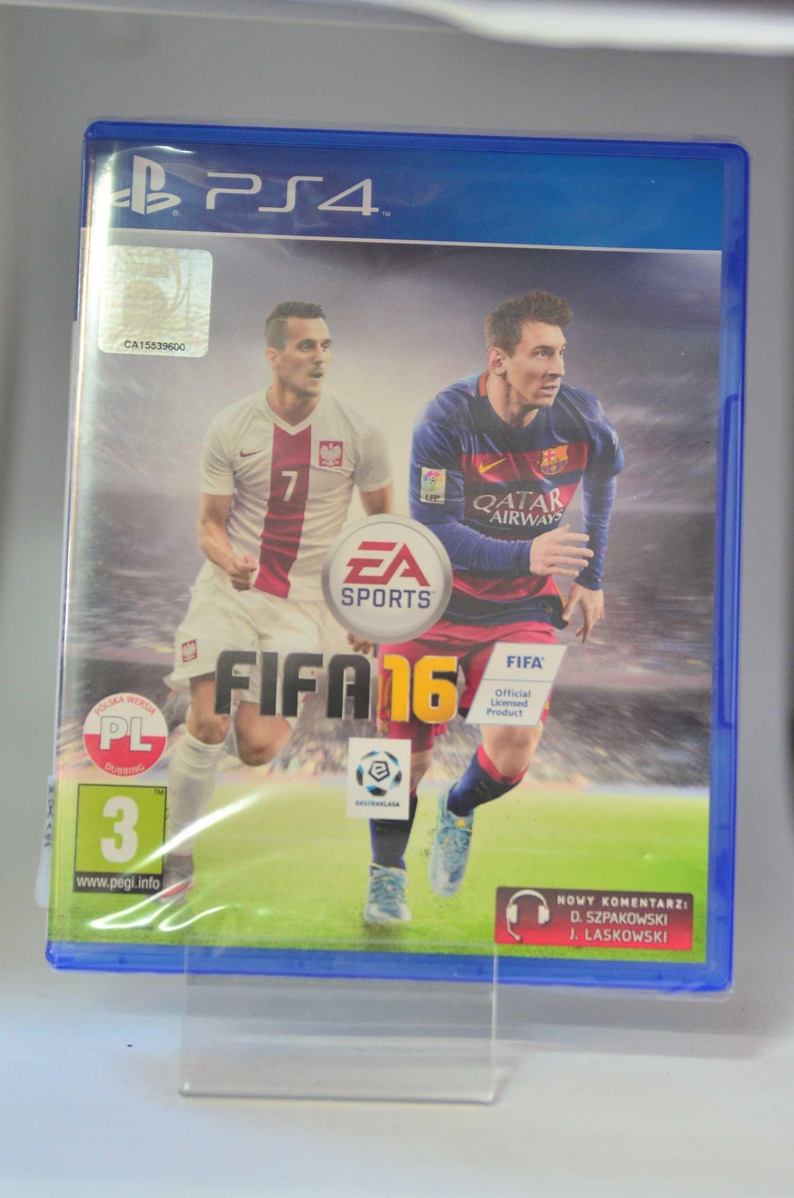 Nowa Gra Fifa 16 na Sony PS4  Lombard Tarnów