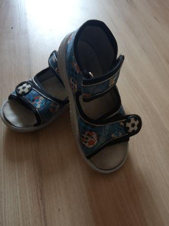 Buty kapcie dla chłopca 23