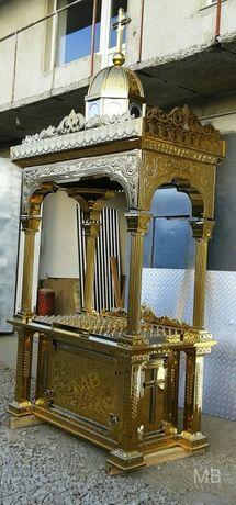 Панахидний стіл, жертовник, свічник , підсвічник, подсвечник, кіот